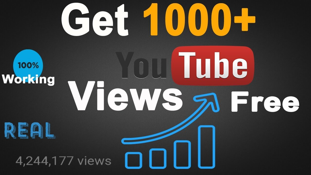 how to get views on youtube fast free